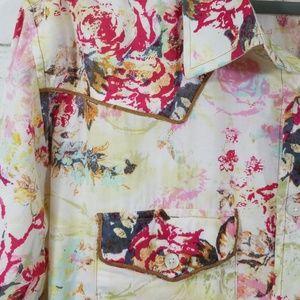 7 Diamonds Shirts - Men's 7 Diamonds Western Print Shirt XL
